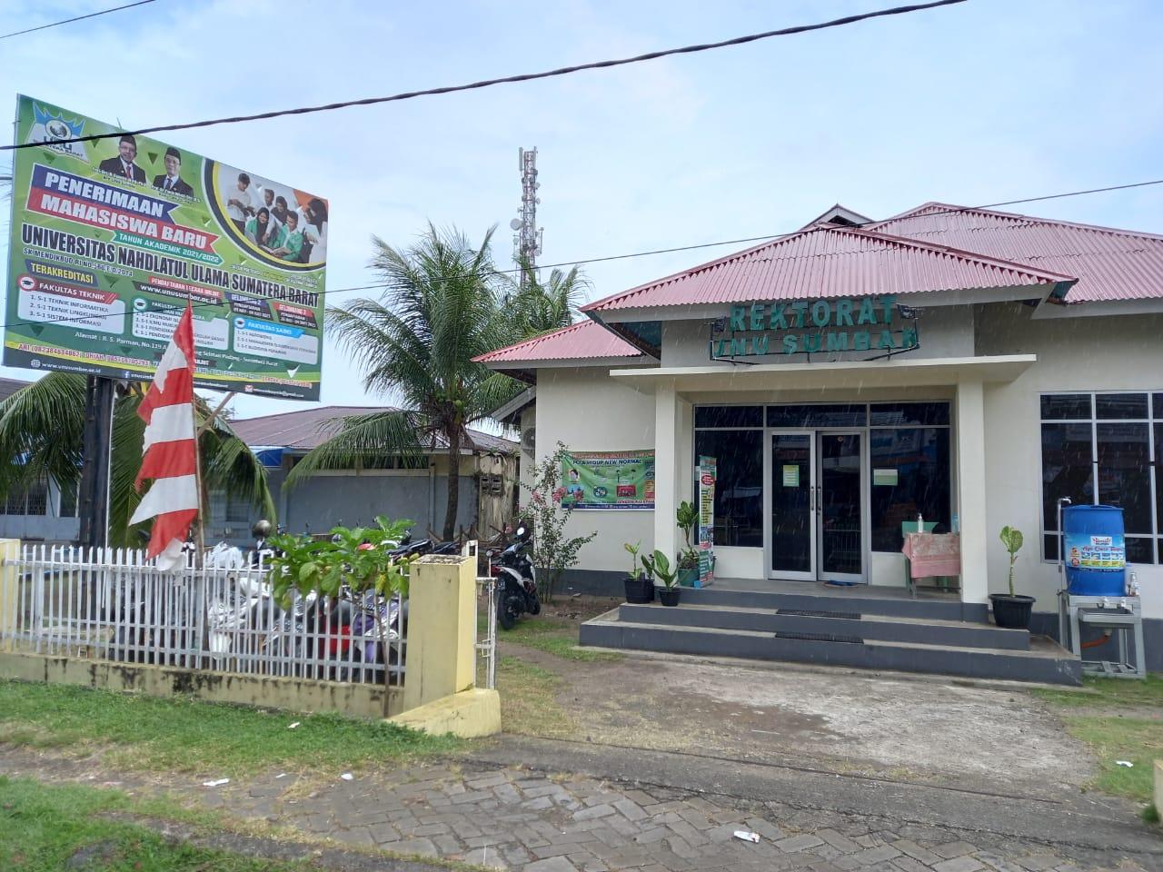 Gedung Rektorat Universitas Nahdlatul Ulama Sumatera Barat