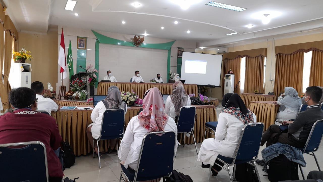 Simulasi Assesment Lapangan untuk Akreditasi Prodi di Universitas Nahdlatul Ulama Sumatera Barat